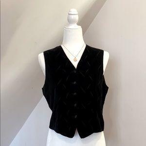 NWOT Chelsea Cambell Petites Vest